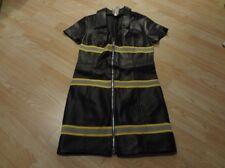 Women's Charades M Sexy Fireman Jacket Zip Up Halloween Costume