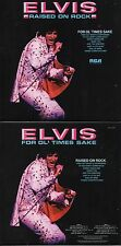 CD Elvis PRESLEY Raised On Rock / For Ol' Times Sake  (1973) - Mini LP REPLICA N