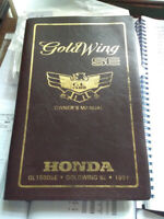 Honda GL1500SE Gold-Wing (1991) Genuine Factory Owners Rider Manual GL 1500 CH93