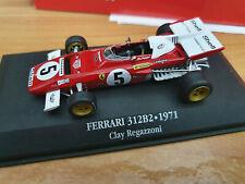 Ferrari F1 312B2 Clay Ragazzoni 1971 - Scala 1:43 - DeAgostini F1 Collection
