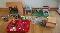 Playmobil Lot - Including Family Fun Camping Lodge + More - Like New!