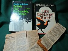 Marjorie Kellogg 1st Editions - Junie Moon & Lion's Tooth, 1968 & 1972 + Reviews