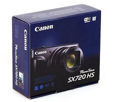 Canon Powershot SX720 HS 20MP 40X Opt-Zoom WiFi HD Digital Camera - Black