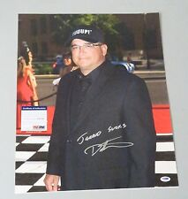 "122801 Dave Hester Signed 16x20 Photo "" Jarrod Sucks "" Psa/Dna Coa Storage Wars"