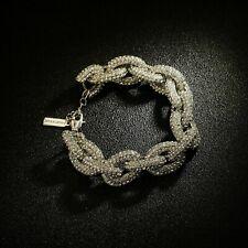 8045dc590e58 Pulseras de bisutería de cristal de metal plateado | Compra online ...