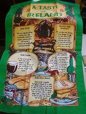 Irlanda un sabor de Irlanda guiso de café irlandés condimentada carne de vacuno irlandesa toalla de té