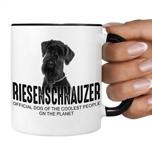 Riesenschnauzer Schnauzer Official Dog cool Tasse Kaffee lustig Kaffeebecher hap