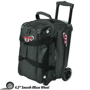 Columbia ICON 2 Ball Roller Bowling Bag Color BLACK
