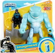 Imaginext DC Super Friends Batman and King Shark Gmp97