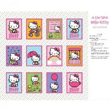 Vente hello kitty Nursery Softbook Panneau 100% Coton Tissu Patchwork