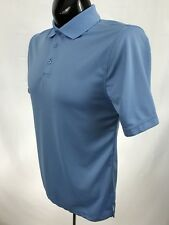 Beverly Hills Polo Club mens shirt golf casual polo polyester s/s blue size S
