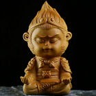 Boxwood Wood Carving Sun Wukong Monkey King Hand-Carved Sculpture A Style