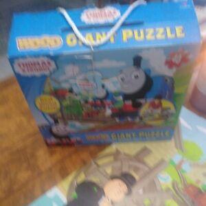 "Thomas & Friends Giant Wood Floor Puzzle 40 Pieces 24"" X 18"""