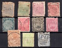Fiji QV used collection x 11 values WS17007