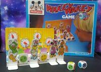 Rare 90's VINTAGE Disney Family Fun Board Game WAKEY WAKEY by Waddingtons