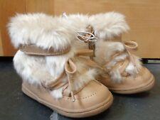 Genuine Kids from Oshkosh Infant Girls' Madi Fashion Boots Tan Size 3 New