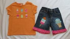 Custom Boutique Resell 6 7 Gymboree Popsicle Party Shorts NWT Ice Cream Top Lot