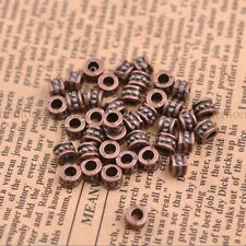 50/100PCS Tibetan silver big hole 3MM flowers Spacer beads Jewelr Finding SH3086