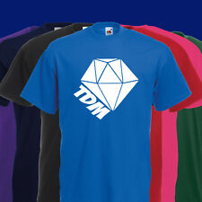DANTDM TDM DIAMANT KINDER T-SHIRT THE DIAMOND MINECART YOUTUBER SPIELER