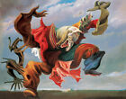 MAX ERNST Fireside Angel (1937) (60x47cm), CANVAS, POSTER FREE P&P