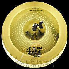 """Wuhan 457 Rock Hi Hat Cymbals 14"""" - Video Demo"""