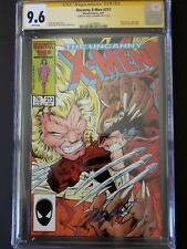 UNCANNY X-MEN #213 graded CGC 9.6 SS Chris Claremont (Wolverine vs. Sabretooth)