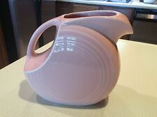 FIESTAWARE RETIRED APRICOT LARGE 2-QUART DISC PITCHER, MINT CONDITION