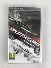 PSP Split Second Velocity (2010), UK Pal, Brand New & Factory Sealed