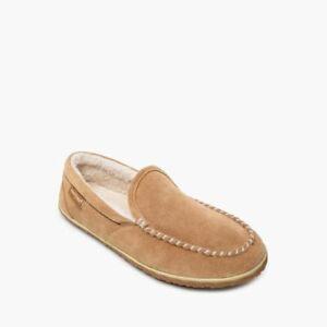Minnetonka Slip-On Moccasin Tilden Cinnamon Mens