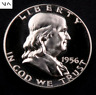 1956 Franklin Half Dollar ~ Gem Proof (cameo) ~ 90% Silver #173