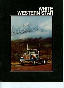 White Western Star Truck Brochure, 1977