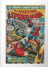 Amazing Spider-Man 125 Oct 1973 Origin & 2nd Appearance of Man-Wolf