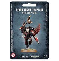 Blood Angels Chaplain with Jump Pack Space Marines Warhammer 40K NIB Flipside