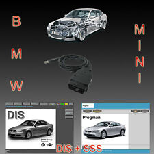 BMW USB OBD Diagnostic cable INPA Ediabas DIS v57 SSS  v32 Progman GT1