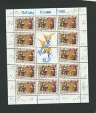 IRELAND Stamps – 1995 Christmas SHEETLET 13 x 28p  MNH - SG 978a