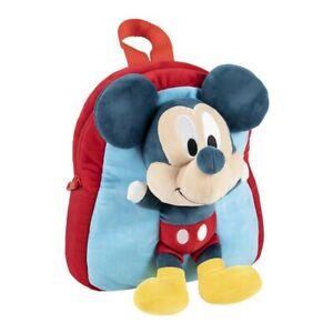 Sac à dos enfant 3D Mickey Mouse Bleu (20 x 23 x 8 cm)