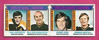 1974-75 OPC BOSTON  BRUINS PHIL ESPOSITO + BOBBY ORR LEADERS  CARD (INV# D5492)