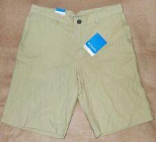 "Columbia Men's Cory Edge 11"" Shorts, 30/32/34/36/38/40 - Linen Omni-Shade - NWT!"