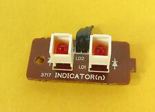 Sansui RA-990 Reverb Amp REPAIR PART - Indicator Lights Board No. F-3717