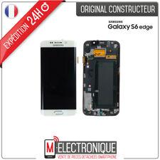 Pantalla LCD juego completo Táctil blanco para Samsung Galaxy S6 Edge G920