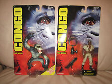 Congo The Movie Action Figures NIP - 2 Figures NIP!!