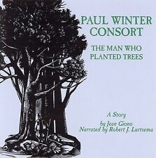 Man Who Planted Trees by Paul Winter (Sax) (CD, 1995, Living Music) Brand New