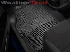 WeatherTech All-Weather Floor Mats for Nissan Sentra - 2007-2012 - Black