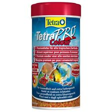 Tetra Pro Colour 55g Tropical Fish Food Discus Fish Barbs Catfish Pleco 110g 20