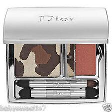 Dior Golden Jungle Radiant Panther Eyeshadows & Lip Gloss 002 Golden Browns NIB