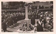 More details for new abbey near glencaple. unveiling war memorial.