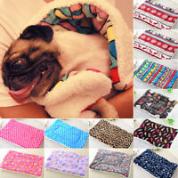 Large Dogs Beds Washable Puppy Cushion Blanket Fleece Soft Winter Warm Cat Nest