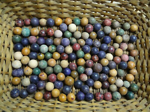 Made marbles were when clay Once Upon
