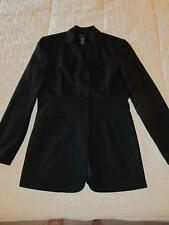 PERRY ELLIS* LONG BLACK BLAZER SZ 4 NWOT *NEW*