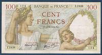 FRANCE - 100 FRANCS SULLY Fayette n° 26.9 du 5=10=1939.SO en TTB   Z.2438 124